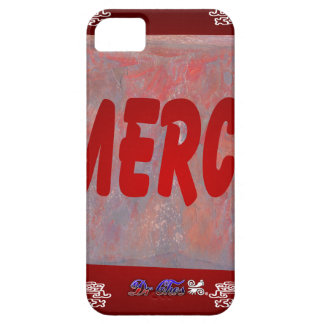MERCI RED CUSTOMIZABLE PRODUCTS iPhone 5 CASES