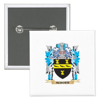 Mercier Coat of Arms - Family Crest Pins