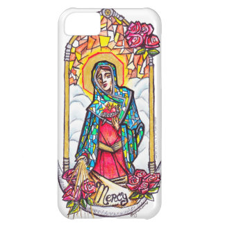 Merciful Mary Virgin Mary Case iPhone 5C Cover