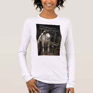 Merciful to Animals Lady Long Sleeve Long Sleeve T-Shirt