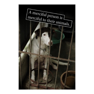 Merciful to Animals Poster
