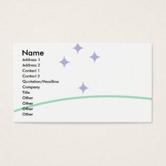 Mercosur Flag Business Card