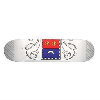 Mercosur Flag Custom Skateboard