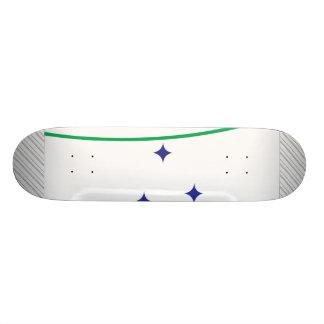 Mercosur Flag Skateboard Deck