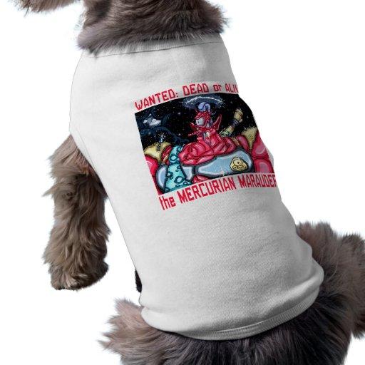 Mercurian Marauder Dog Clothing