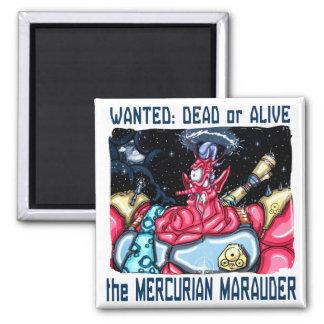 Mercurian Marauder Magnet