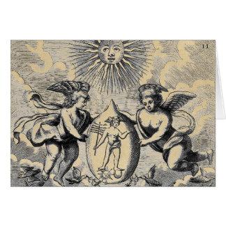 Mercurius Egg Greeting Card