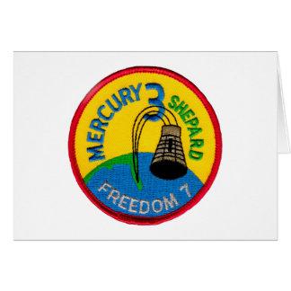 Mercury 3: Freedom 7 Alan Shepherd Card