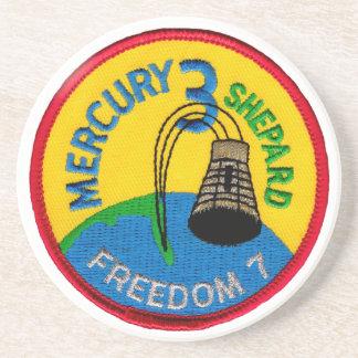 Mercury 3: Freedom 7 Alan Shepherd Coaster