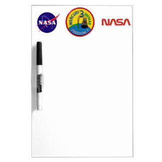 Mercury 3: Freedom 7 Alan Shepherd Dry Erase Board