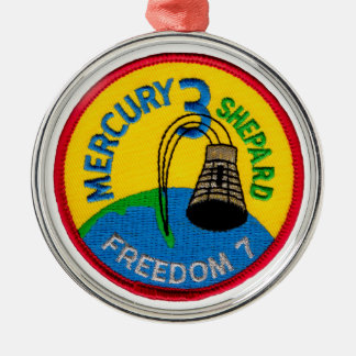 Mercury 3: Freedom 7 Alan Shepherd Metal Ornament