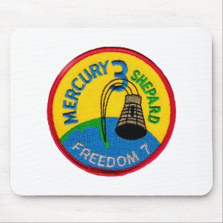 Mercury 3: Freedom 7 Alan Shepherd Mouse Pad