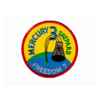 Mercury 3: Freedom 7 Alan Shepherd Postcard