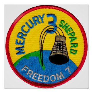 Mercury 3: Freedom 7 Alan Shepherd Poster