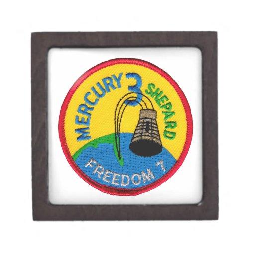 Mercury 3: Freedom 7 Alan Shepherd Premium Trinket Boxes