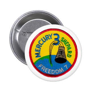 Mercury 3: Pastor de Alan de la libertad 7 Pins