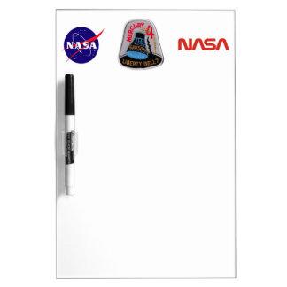 Mercury 4: Liberty Bell 7 Gus Grissom Dry Erase Whiteboards