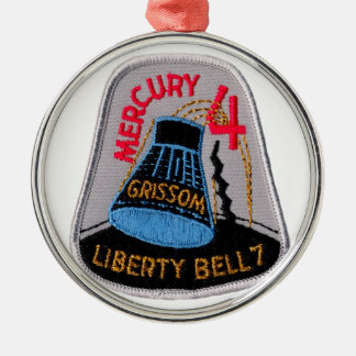 Mercury 4: Liberty Bell 7 Gus Grissom Metal Ornament