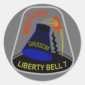 Mercury 4 Sticker