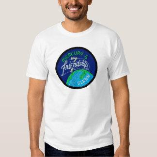 Mercury 6: Amistad 7 - John Glenn Camisas