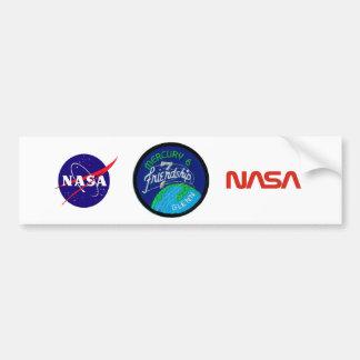 Mercury 6: Friendship 7 – John Glenn Car Bumper Sticker