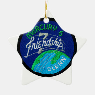 Mercury 6: Friendship 7 – John Glenn Ceramic Ornament