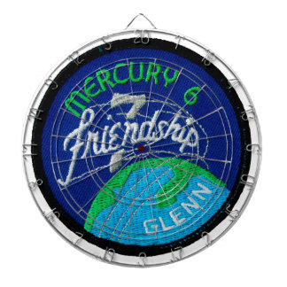 Mercury 6: Friendship 7 – John Glenn Dartboard