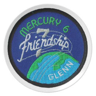 Mercury 6: Friendship 7 – John Glenn Dinner Plate