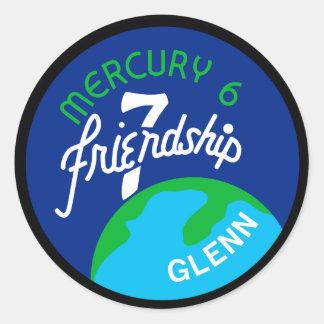 Mercury 6 Sticker