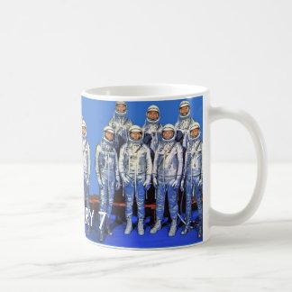MERCURY 7 astronauts Classic White Coffee Mug