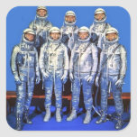 merCURY 7 astronauts Sticker