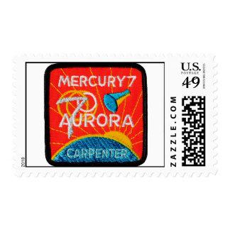 Mercury 7: Aurora 7 - Carpintero de Scott Estampilla