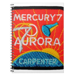 Mercury 7: Aurora 7 - Carpintero de Scott Cuadernos