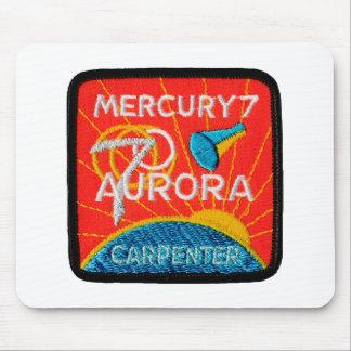 Mercury 7: Aurora 7 - Carpintero de Scott Alfombrillas De Ratones