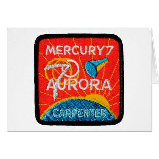 Mercury 7: Aurora 7 - Carpintero de Scott Tarjetón