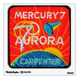 Mercury 7: Aurora 7 - Carpintero de Scott Vinilo Decorativo