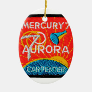 Mercury 7: Aurora 7 – Scott Carpenter Ceramic Ornament