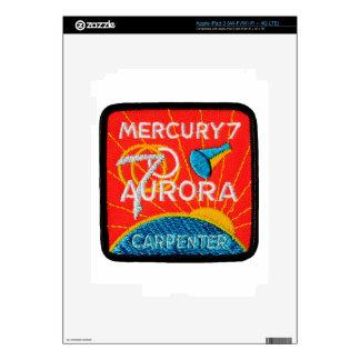 Mercury 7: Aurora 7 – Scott Carpenter iPad 3 Skin