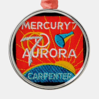 Mercury 7: Aurora 7 – Scott Carpenter Metal Ornament
