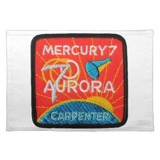 Mercury 7: Aurora 7 – Scott Carpenter Placemat