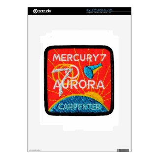 Mercury 7: Aurora 7 – Scott Carpenter Skin For The iPad 2
