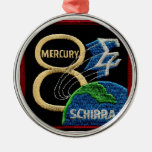 Mercury 8: Sigma 7 - Wally Schirra Ornamentos De Reyes Magos
