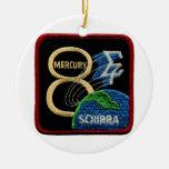 Mercury 8: Sigma 7 - Wally Schirra Ornamentos Para Reyes Magos