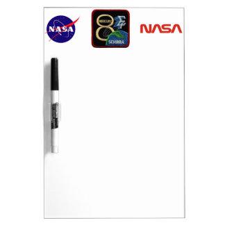Mercury 8: Sigma 7 – Wally Schirra Dry-Erase Board
