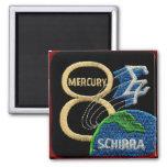 Mercury 8: Sigma 7 – Wally Schirra Refrigerator Magnet