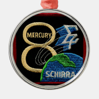 Mercury 8: Sigma 7 – Wally Schirra Metal Ornament