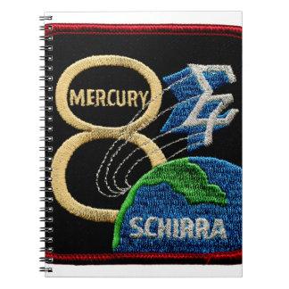 Mercury 8: Sigma 7 – Wally Schirra Spiral Note Book