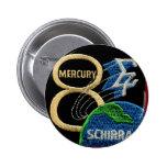 Mercury 8: Sigma 7 – Wally Schirra Pin