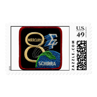 Mercury 8: Sigma 7 – Wally Schirra Postage