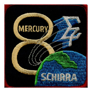Mercury 8: Sigma 7 – Wally Schirra Poster